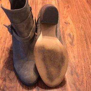 Ivanka Trump Shoes - Ivanka Trump 'Frankly' belted suede bootie